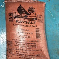 Kaysalt iodated coarse salt pack