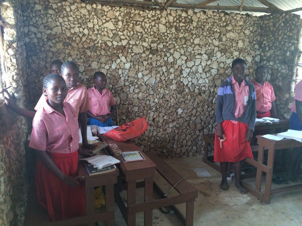 Mt Zion Primary school students