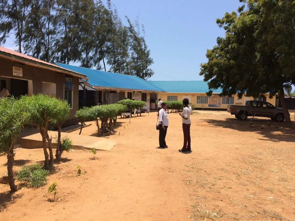 All 3 buildings at Marereni Maternity and Dispensary