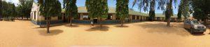 Marereni Primary School courtyard panarema