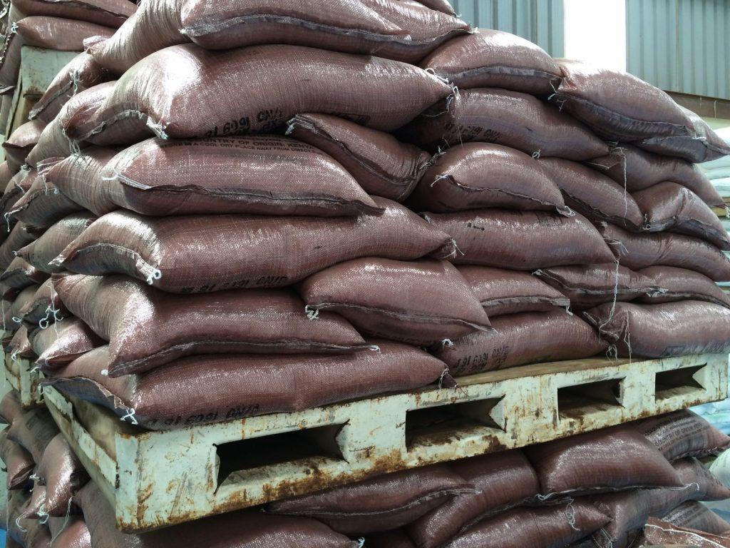 Kaysalt Coarse Salt stacks